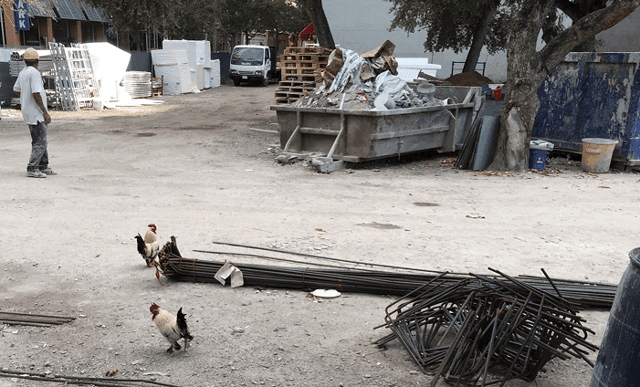Used to be No One Here but Us Chickens: Construction in Downtown Miami