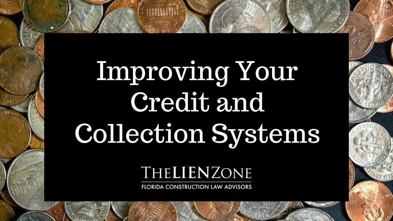 Improving Your Credit and Collection Systems