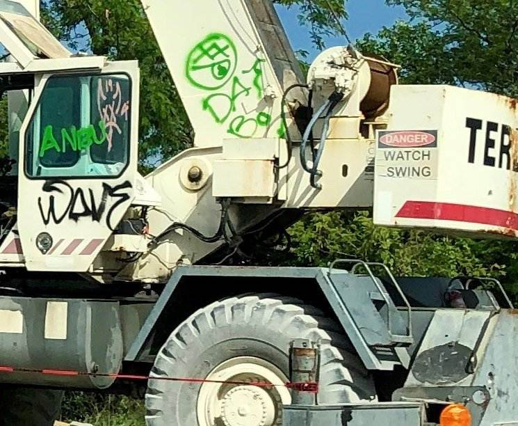 How To Reduce the Risk of Vandals Graffiti Tagging Your Construction Site