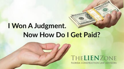 I Won A Judgment. Now How Do I Get Paid?